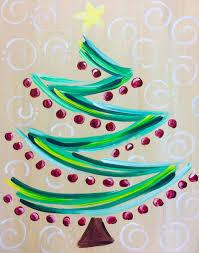 Vintage Ceramic Christmas Tree Painting Class  MonDak Heritage CenterClassroom Christmas Tree