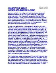 imaginative essay gcse english marked by teachers com page 1 zoom in