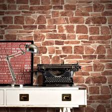 live free office wallpapers free office wallpapers. Rasch Brick Wall Pattern Faux Effect Realistic Mural Textured Vinyl Wallpaper 265613 Live Free Office Wallpapers N