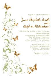 Inspirational Wedding Invitation Design Templates Online Free Or