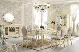 italian white furniture. dining table set classic white italian 6 chairs in furniture