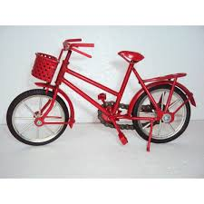 hand carved mini metal art model bicycle iron handmade red bicycle gift on red bicycle metal wall art with hand carved mini metal art model bicycle iron handmade red bicycle