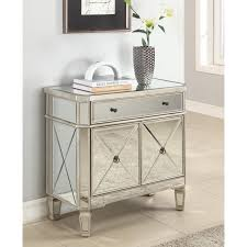 powell furniture mirrored console table    the simple stores