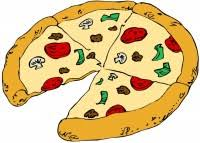 Image result for pizza fraction image