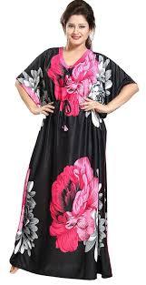 Long Nighty Design Diljeet Satin Nighty Night Gowns Pink