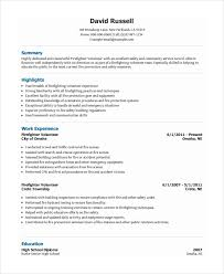 Volunteer Resume Template Best 28 Volunteer Resume Templates PDF DOC Free Premium Templates