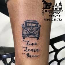 At Gurutattooist Guru Prasad Did This Minimal Tattoos Recently