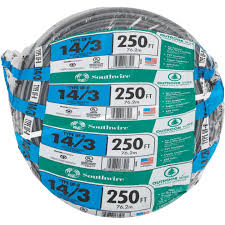 Southwire 250 Ft 12 2 Landscape Lighting Cable Southwire 250 Ft 14 Awg 3 Conductor Ufw G Wire Pilot