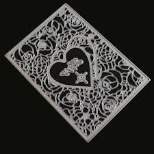 <b>Love</b> Flower Pattern <b>DIY Carbon Steel</b> Cutting Die | Shopee Malaysia