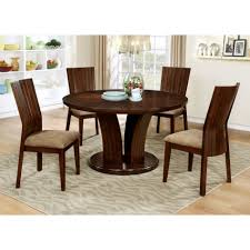 stylish dining room furniture marble sled legs standard wrought iron 54 inch round table red wood