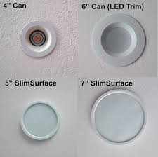 full image for 4 in matte white recessed square lamp led lighting kit so what is