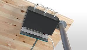 Plug Hub Desk Power Cable Organizer