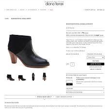 Diana Ferrari Shoe Size Chart Diana Ferrari Rhinestone Leather Ankle Boots Size Depop
