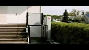Exterior Wheelchair Platform Lift YouTube - Exterior wheelchair lifts
