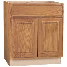 this review is from hampton assembled 30x34 5x24 in base kitchen cabinet with ball bearing drawer glides in medium oak