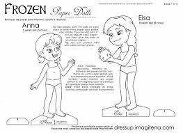 Small Picture Paper Dolls Coloring Pages Imagiterra Frozen Paperdolls 4 Jpg