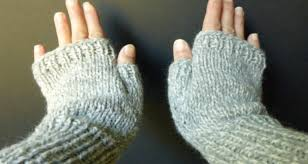 Free Fingerless Gloves Knitting Pattern Awesome EASY SIMPLE BASIC Fingerless Gloves Adult SmMed Size 48 Advanced