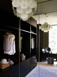 hanging heavy mirror on drywall contemporary closet also area rug built in hanging rods mirrors open shelves pendant light vanity stool vanity table