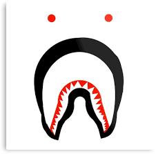 resultado de imagen de bape shark logo