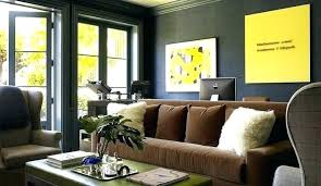 grey walls brown couch brown couch black furniture grey walls brown couch brown black office design with black wallpaper moldings brown couch light grey