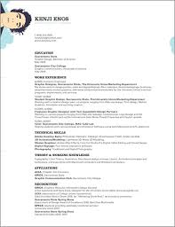 kenjiBoy resume by