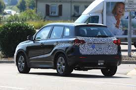 2018 suzuki suv. modren 2018 2018 suzuki vitara facelift spied has blocked off grille on suzuki suv