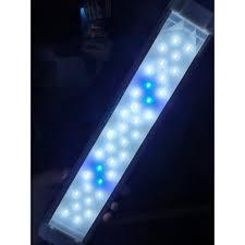 Đèn LED Q-400 4 Hàng Trắng Xanh cho hồ cá thủy sinh 40Cm (Hàng Công Ty)