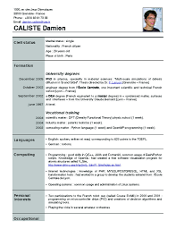 Spectacular Inspiration New Resume Format 8 2014 Example Cv