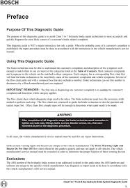Brake Diagnosis Chart Class 5 To 7 Truck And Bus Hydraulic Brake System Pdf Free