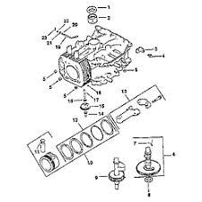 kohler engine parts model cvs sears partsdirect crankcase