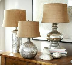 pottery barn mercury glass lamp bedside lights stained replacement shades white table lamps bedroom shade mer