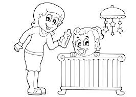Baby Kleurplaat 19 Gratis Kleurplaten Geboorte Zoon Meisje