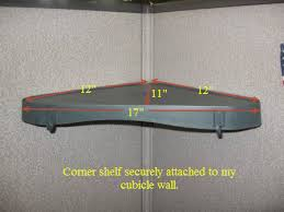office cubicle shelves. Corner Cubicle Shelf Add Some Storage With A Hanging Unit Office Shelves S