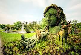 sustainable garden art garden