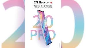 ZTE Blade 20 Pro 5G: specificaties ...