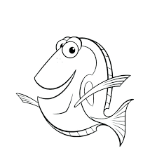 Finding Nemo Coloring Finding Coloring Pages Best Of Beautiful