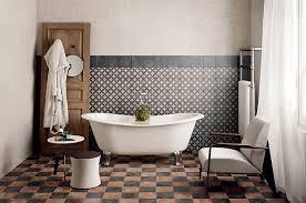 vintage bathroom floor tile ideas. Black And Brown Vintage Bathroom Floor Tile Ideas P