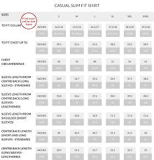 Extra Large Size Chart What Shirt Size Am I Savile Row Co Blogsavile Row Co Blog