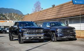 2014 Truck Comparison Chart Comparison 2019 Vs 2018 Chevrolet Silverado 1500 Eagle