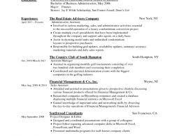 Resume Resume Example Sample Resume In Ms Word Format Free