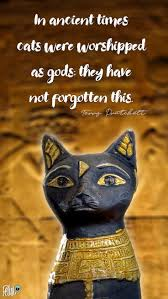 Cat God Felini Reminds Us Of Pleasant Ancient Egyptian Times By