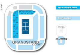Stadium Seating Charts Western Southern Open
