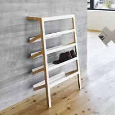 contemporary shoe rack / plywood / sheet steel