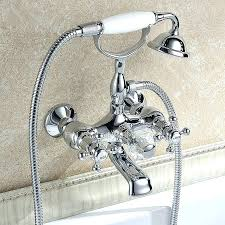 awesome bathtub wall faucet mount bathroom faucets
