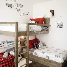 bunkbeds with a ladder