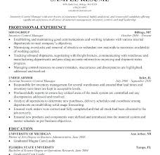 Inventory Control Resume Amazing Inventory Control Manager Job Description Resume Grocery Download