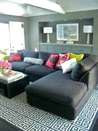rugs that go with grey couches magnificent what color rug goes a couch com for plan