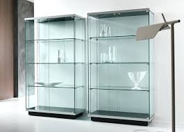 glass display cabinet wall display case with glass doors astonish diffe effective places where the mirror glass display