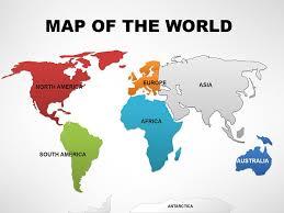Powerpoint World Editable World Powerpoint Maps