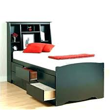 Twin Xl Bed Frame With Drawers Decorative Twin Frame Platform Bed ...